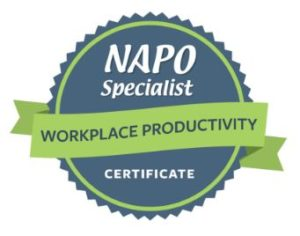 NAPO Specialist Certificate – Workplace Productivity issued by NAPO to Patricia DePalma